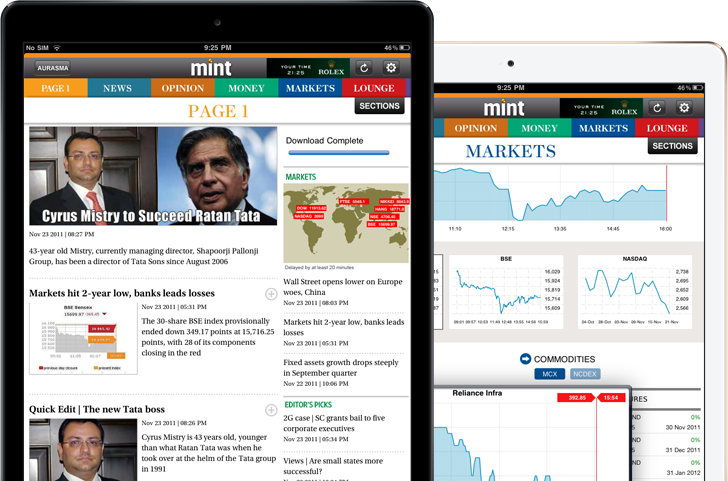 HT - Mint for iPad