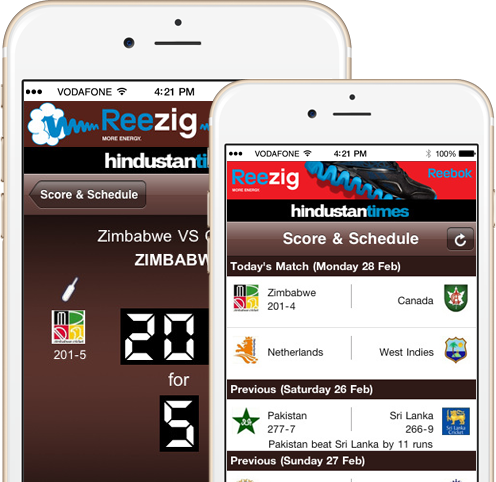 HT REEBOK Cricket for iPhone