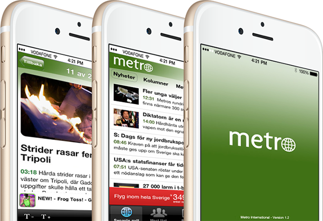 Metro International for iPhone